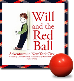 will red ball, excerpt, will and the red ball, new york, boy from minnesota,  red ball, childrens book, happy ending